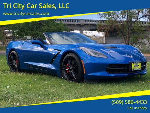 2014 Chevrolet Corvette for sale at Tri City Car Sales, LLC in Kennewick WA