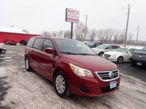2012 Volkswagen Routan for sale at Marty's Auto Sales in Savage MN