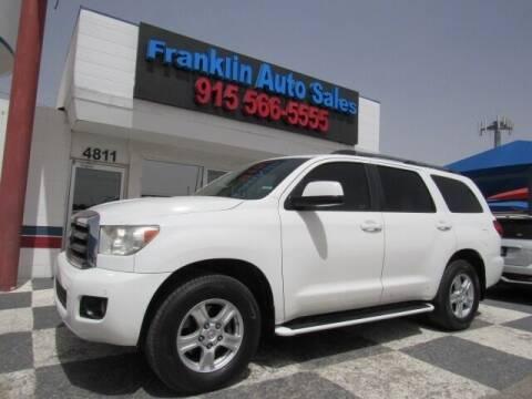 2008 Toyota Sequoia for sale at Franklin Auto Sales in El Paso TX