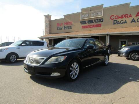 2007 Lexus LS 460 for sale at Import Motors in Bethany OK