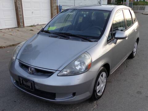 2007 Honda Fit for sale at Broadway Auto Sales in Somerville MA