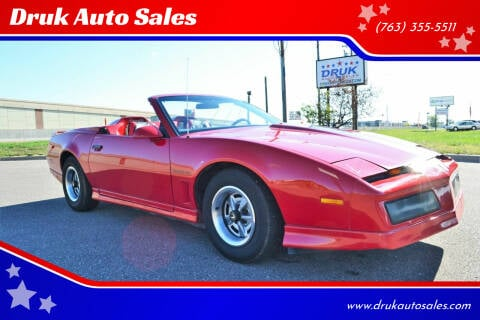 1984 Pontiac Firebird for sale at Druk Auto Sales in Ramsey MN