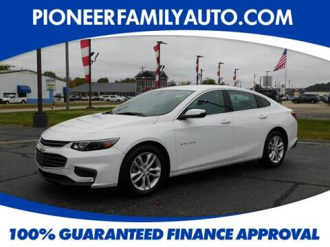 2018 Chevrolet Malibu for sale at Pioneer Family auto in Marietta OH