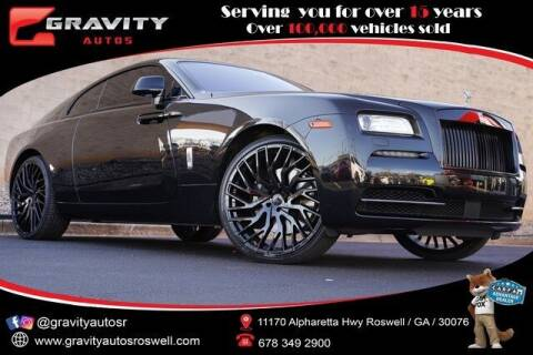 2015 Rolls-Royce Wraith for sale at Gravity Autos Roswell in Roswell GA