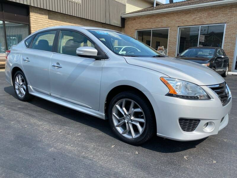 2015 Nissan Sentra for sale at C Pizzano Auto Sales in Wyoming PA
