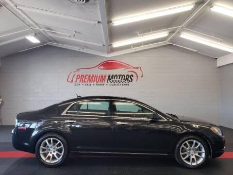 2011 Chevrolet Malibu for sale at Premium Motors in Villa Park IL