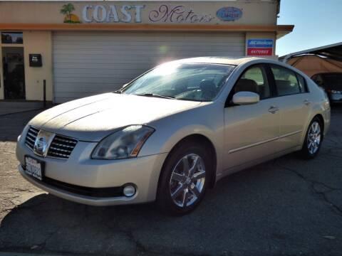 2006 Nissan Maxima for sale at Coast Motors in Arroyo Grande CA