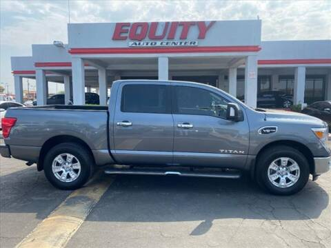 2017 Nissan Titan for sale at EQUITY AUTO CENTER in Phoenix AZ