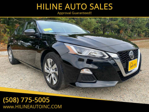 2019 Nissan Altima for sale at HILINE AUTO SALES in Hyannis MA