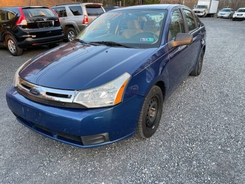 2009 Ford Focus for sale at JM Auto Sales in Shenandoah PA