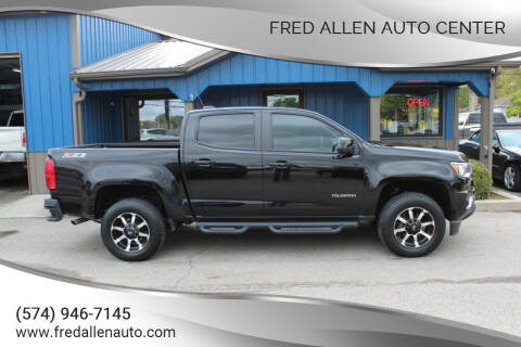 2016 Chevrolet Colorado for sale at Fred Allen Auto Center in Winamac IN