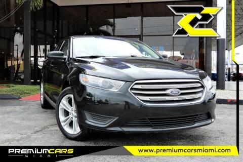 2014 Ford Taurus for sale at Premium Cars of Miami in Miami FL