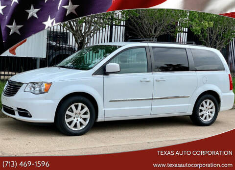 2014 Chrysler Town and Country for sale at Texas Auto Corporation in Houston TX