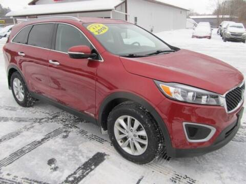 2018 Kia Sorento for sale at Thompson Motors LLC in Attica NY