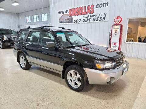 2004 Subaru Forester for sale at Kinsellas Auto Sales in Rochester MN