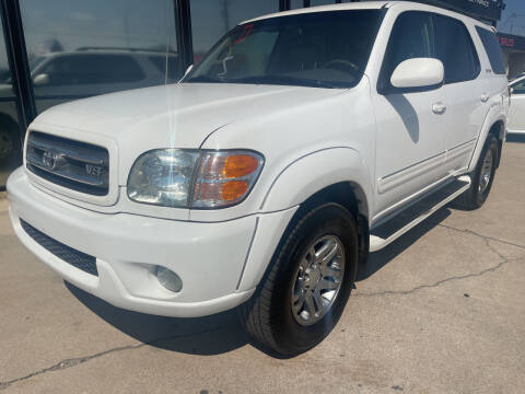 2004 Toyota Sequoia for sale at Tucson Auto Sales in Tucson AZ