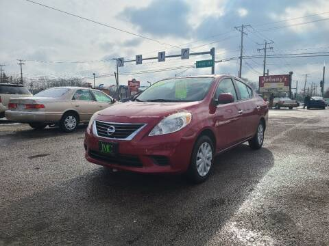 2012 Nissan Versa for sale at Johnny's Motor Cars in Toledo OH
