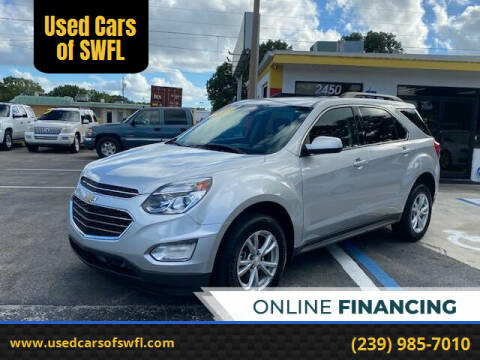 2017 Chevrolet Equinox for sale at Used Cars of SWFL in Fort Myers FL
