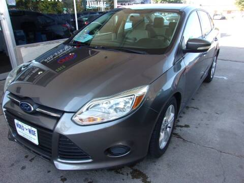 2013 Ford Focus for sale at World Wide Automotive in Sioux Falls SD