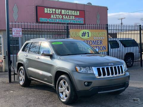 2011 Jeep Grand Cherokee for sale at Best of Michigan Auto Sales in Detroit MI