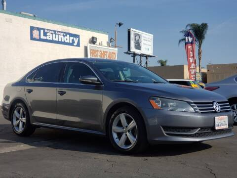 2012 Volkswagen Passat for sale at First Shift Auto in Ontario CA