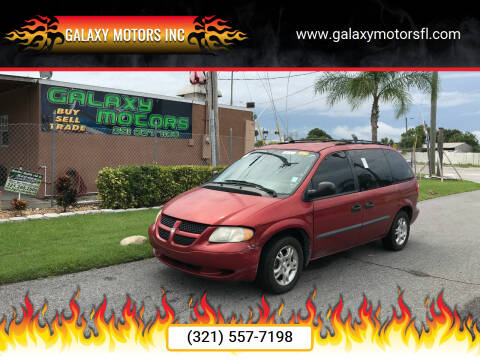 2003 Dodge Caravan for sale at Galaxy Motors Inc in Melbourne FL