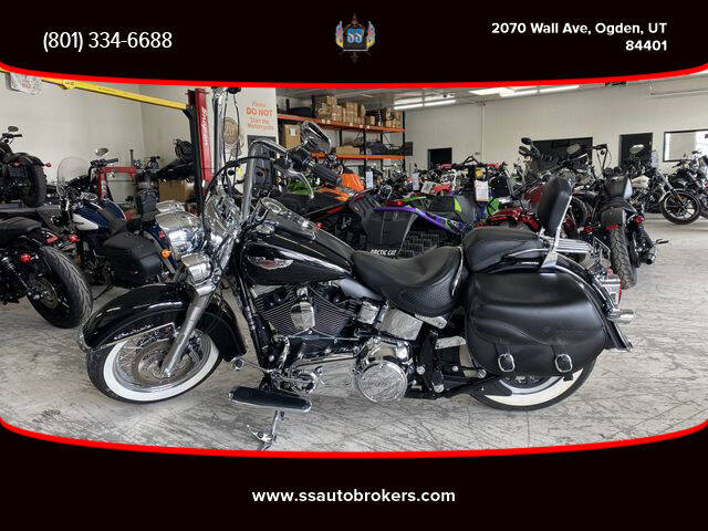 2015 Harley-Davidson FLSTN Softail Deluxe for sale at S S Auto Brokers in Ogden UT