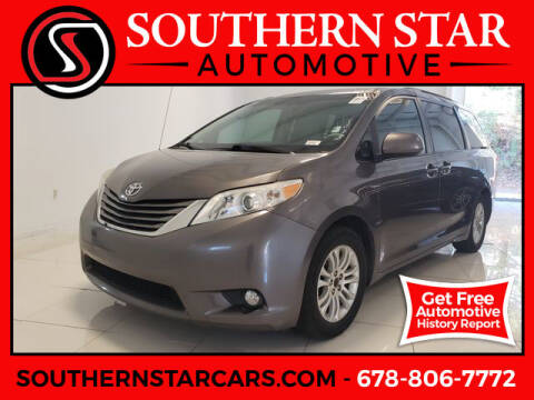 2014 Toyota Sienna for sale at Southern Star Automotive, Inc. in Duluth GA