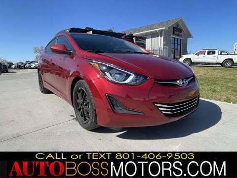 2016 Hyundai Elantra for sale at Auto Boss in Woods Cross UT