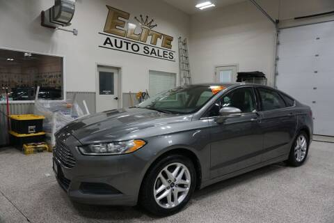 2013 Ford Fusion for sale at Elite Auto Sales in Ammon ID