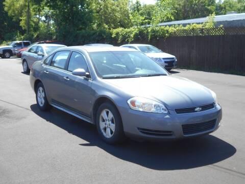 2009 Chevrolet Impala for sale at MT MORRIS AUTO SALES INC in Mount Morris MI