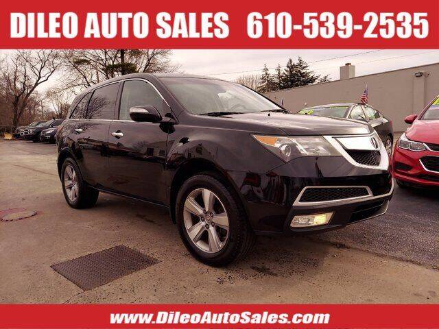 2011 Acura MDX for sale at Dileo Auto Sales in Norristown PA