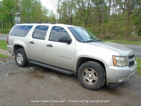 2007 Chevrolet Suburban for sale at Vans Vans Vans INC in Blauvelt NY