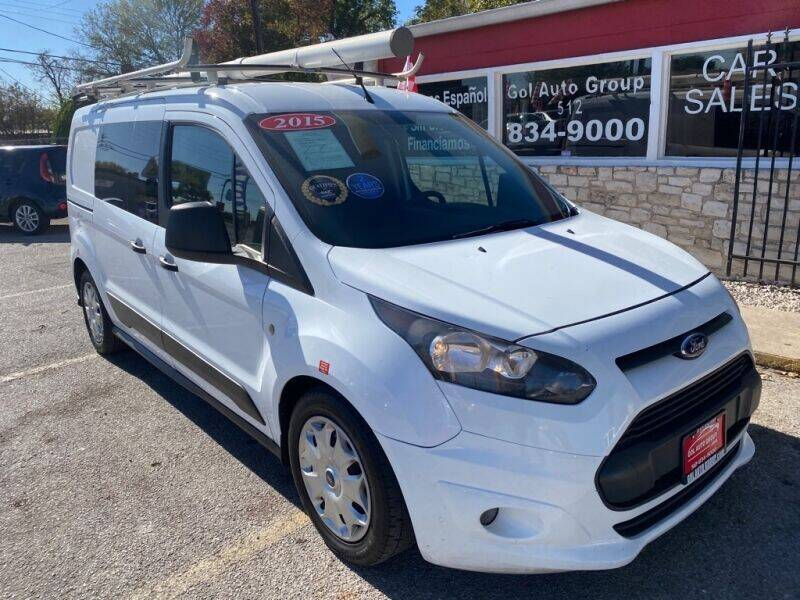 2015 Ford Transit Connect Cargo for sale at GOL Auto Group in Austin TX