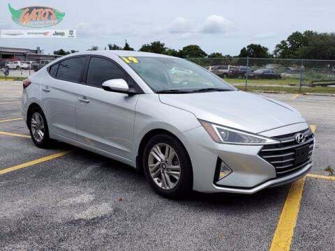 2019 Hyundai Elantra for sale at GATOR'S IMPORT SUPERSTORE in Melbourne FL