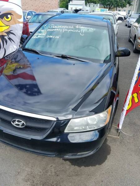 2006 Hyundai Sonata for sale at Perez Auto Group LLC -Little Motors in Albany NY