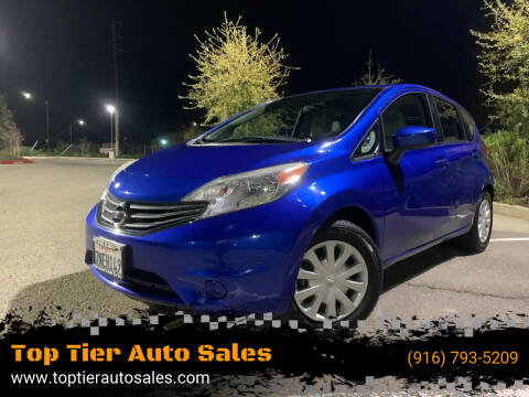 2015 Nissan Versa Note for sale at Top Tier Auto Sales in Sacramento CA