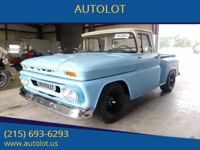 1960 Chevrolet C/K 10 Series for sale at AUTOLOT in Bristol PA