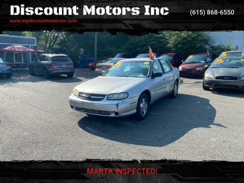 2004 Chevrolet Classic for sale at Discount Motors Inc in Madison TN