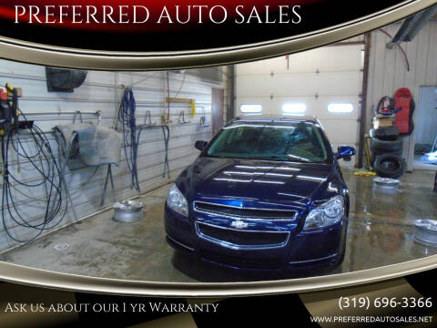 2011 Chevrolet Malibu for sale at PREFERRED AUTO SALES in Lockridge IA