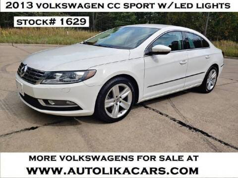 2013 Volkswagen CC for sale at Autolika Cars LLC in North Royalton OH