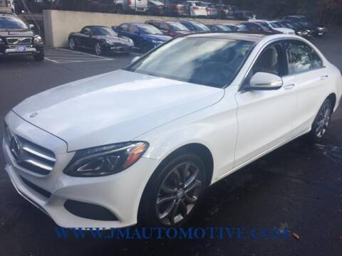 2015 Mercedes-Benz C-Class for sale at J & M Automotive in Naugatuck CT