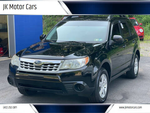 2012 Subaru Forester for sale at JK Motor Cars in Pittsburgh PA