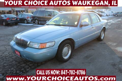 2001 Mercury Grand Marquis for sale at Your Choice Autos - Waukegan in Waukegan IL