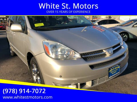 2004 Toyota Sienna for sale at White St. Motors in Haverhill MA