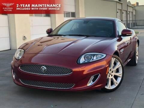 2013 Jaguar XK for sale at European Motors Inc in Plano TX