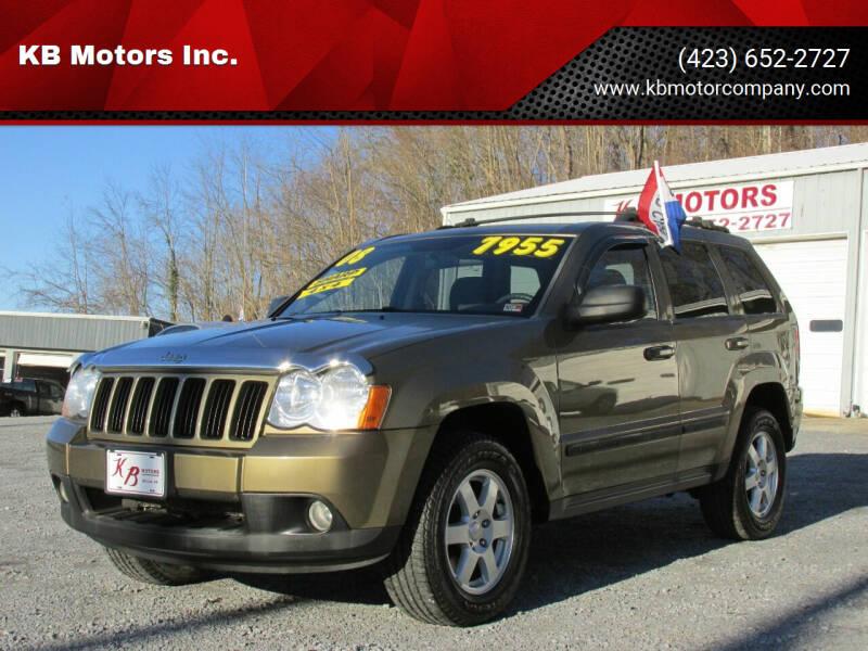 2008 Jeep Grand Cherokee for sale at KB Motors Inc. in Bristol VA