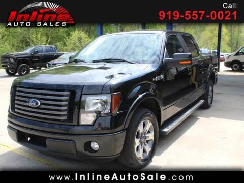 2012 Ford F-150 for sale at Inline Auto Sales in Fuquay Varina NC