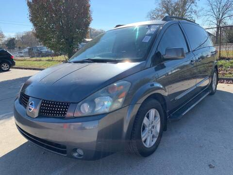 2004 Nissan Quest for sale at Diana Rico LLC in Dalton GA