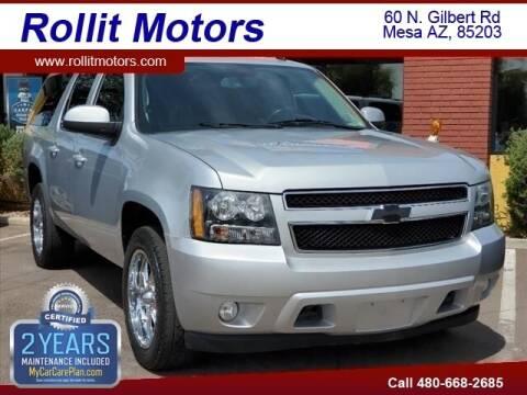 2012 Chevrolet Suburban for sale at Rollit Motors in Mesa AZ